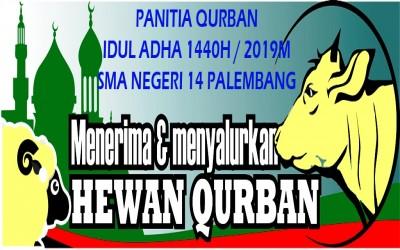 Panitia Qurban Idul Adha SMA Negeri 14 Palembang
